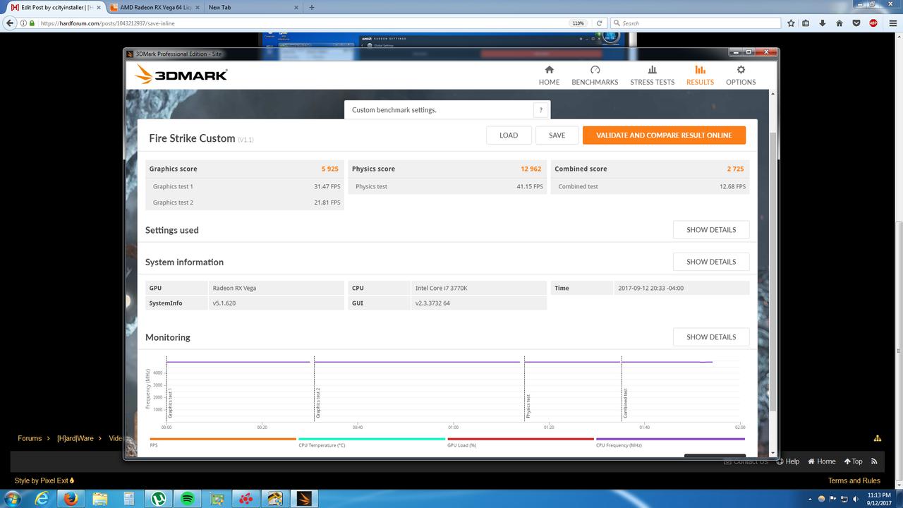 Vega FireStrike 1100 HBM 50% PL 1055V.png