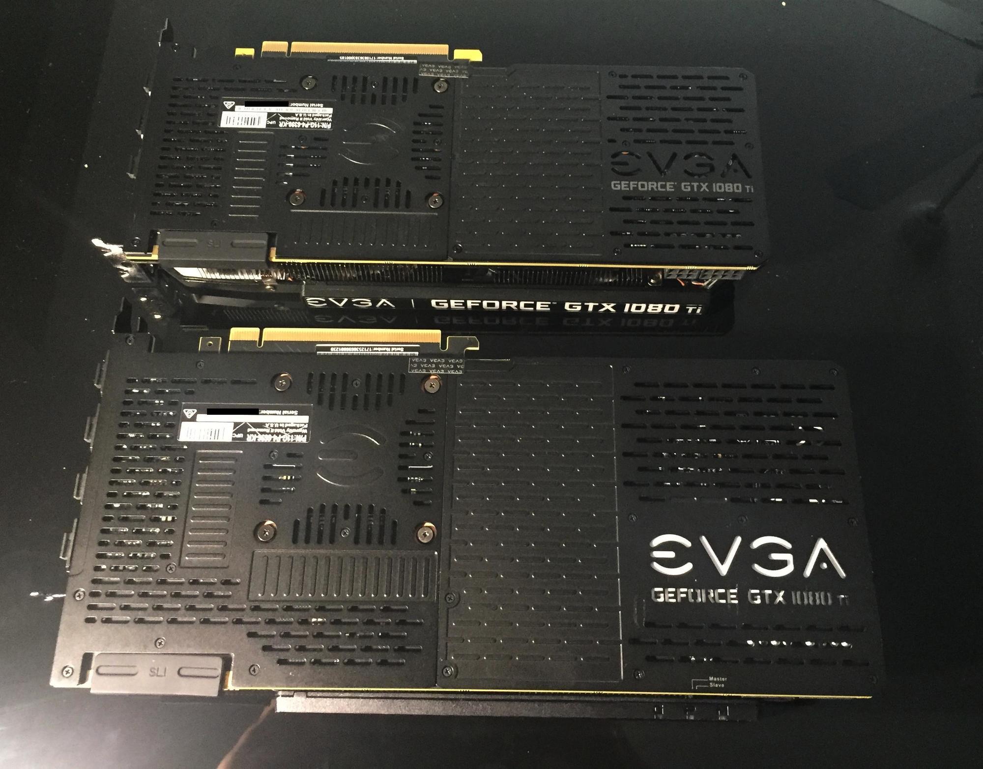 EVGA 1080 ti SC Black vs FTW3 (pics)   [H]ard Forum