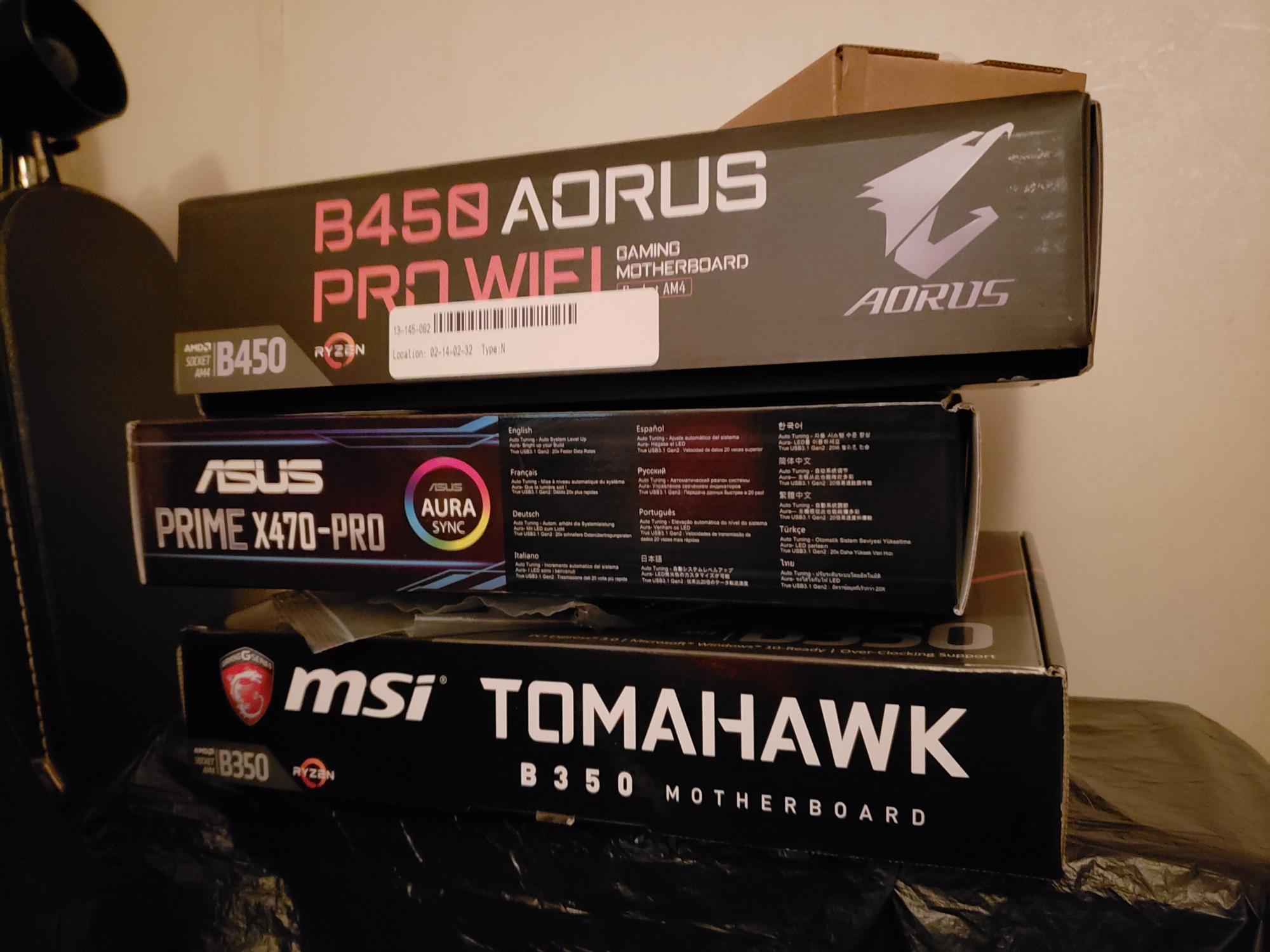 25 B-450 Boards Analyzed | [H]ard|Forum