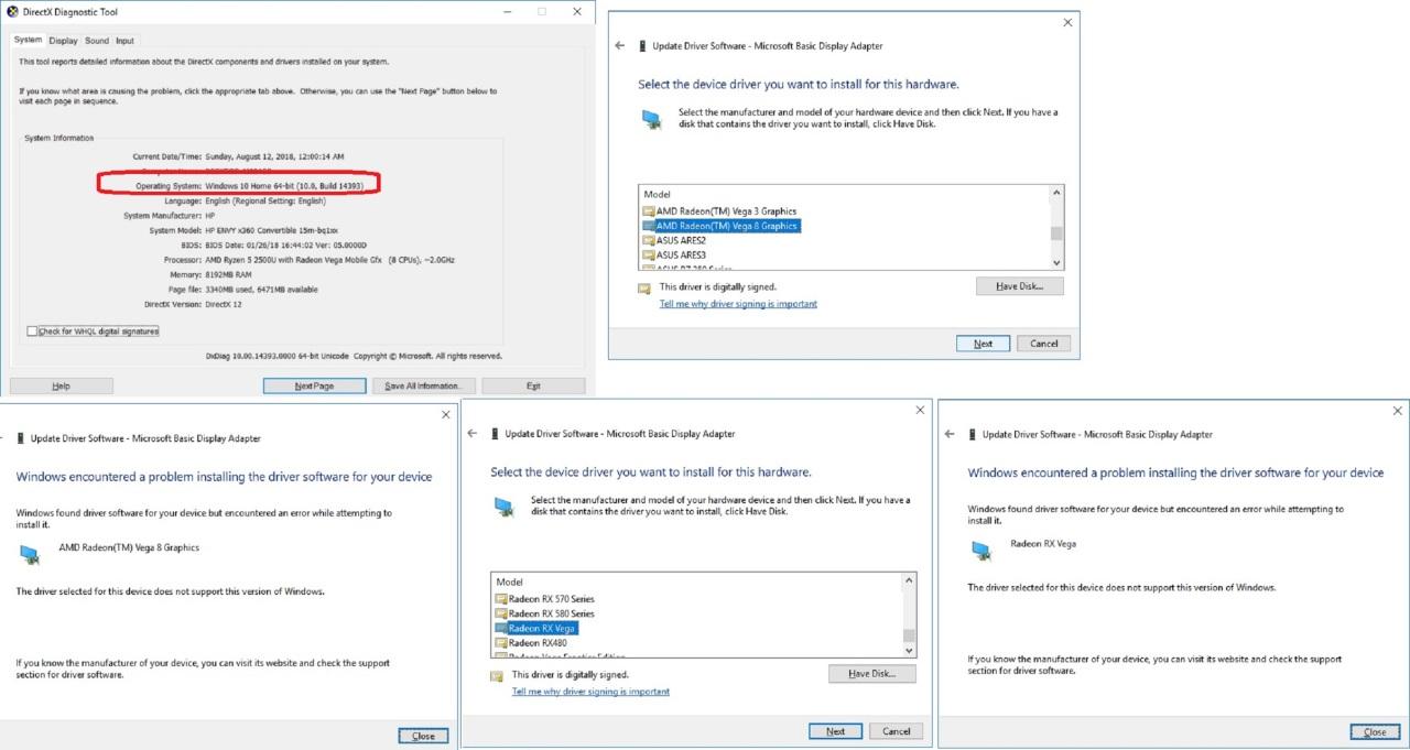 Amd vega 8 driver 18 51 install mod   Page 2   [H]ard Forum
