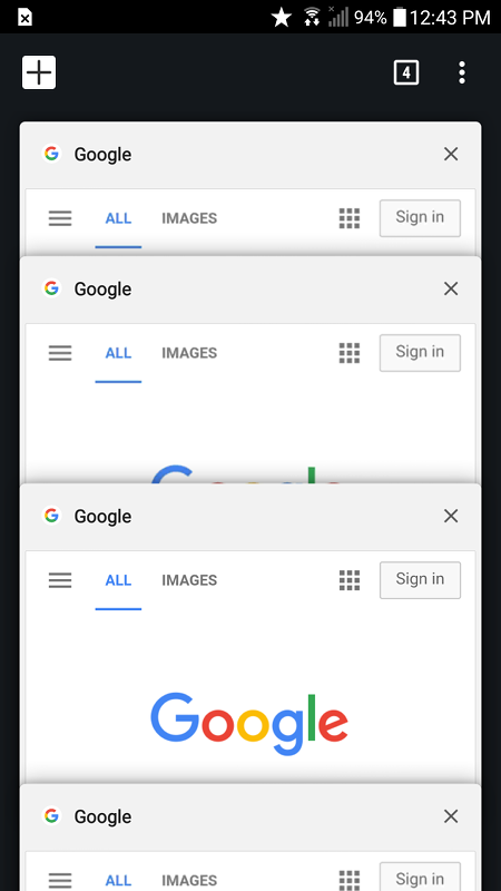 Chrome 64 for Android: White Navigation Bar!?! | [H]ard|Forum