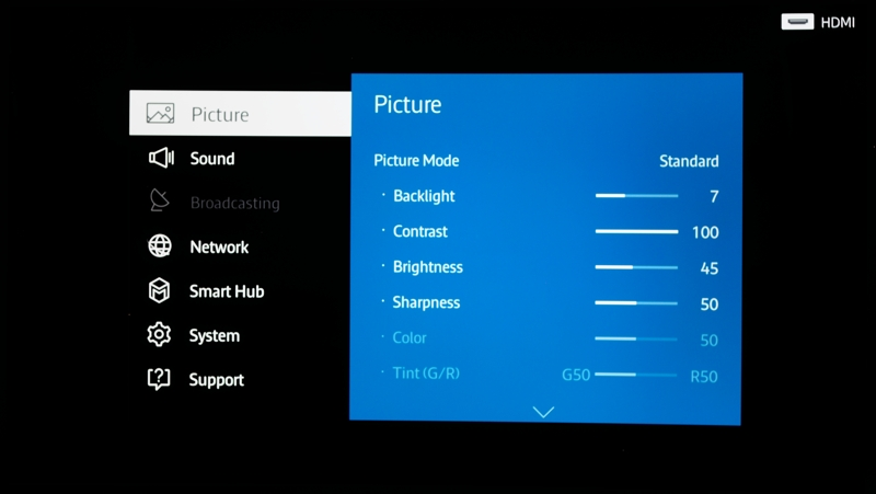 how to set up a wii to a samsung tv