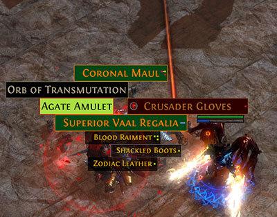 Poe Ninja Amulets