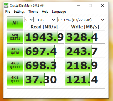 NVME Write speed extremely low      | [H]ard|Forum