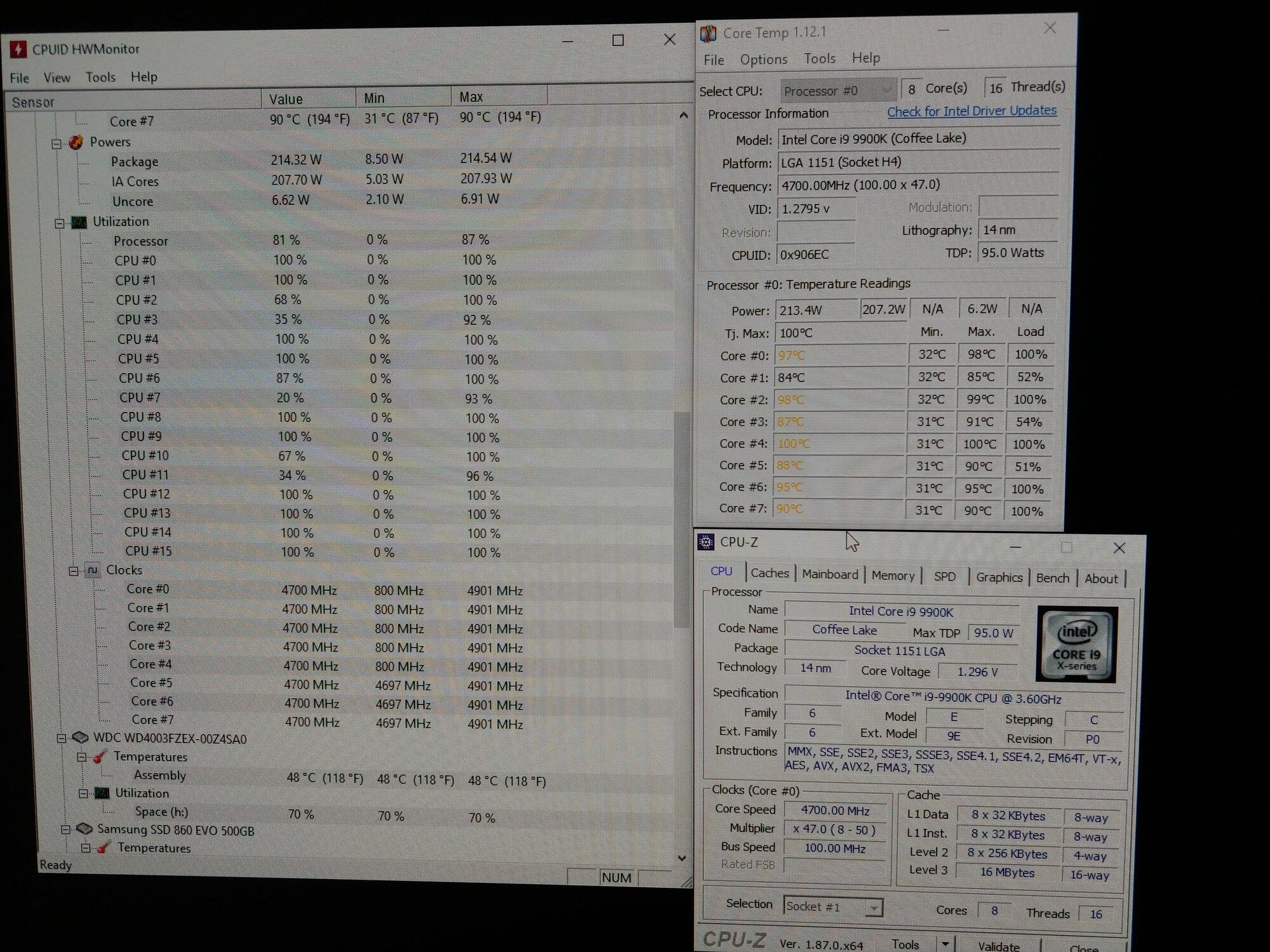 9900k results - worried | [H]ard|Forum