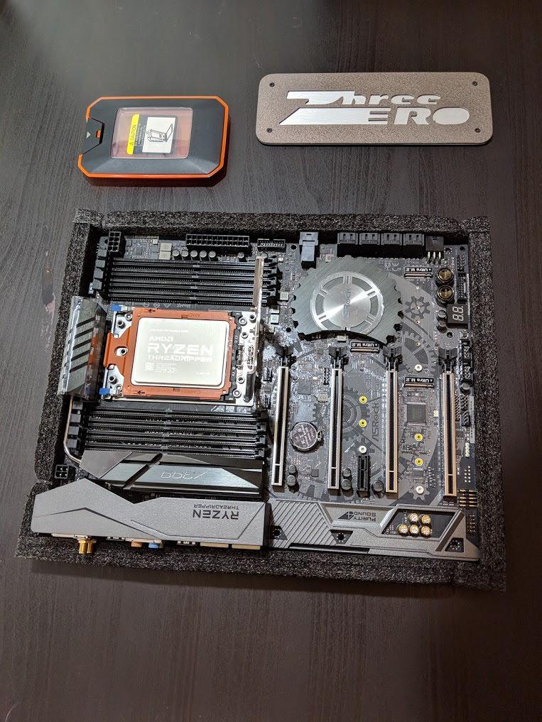 Build Log] Excelsior! Threadripper KVM Build with GPU