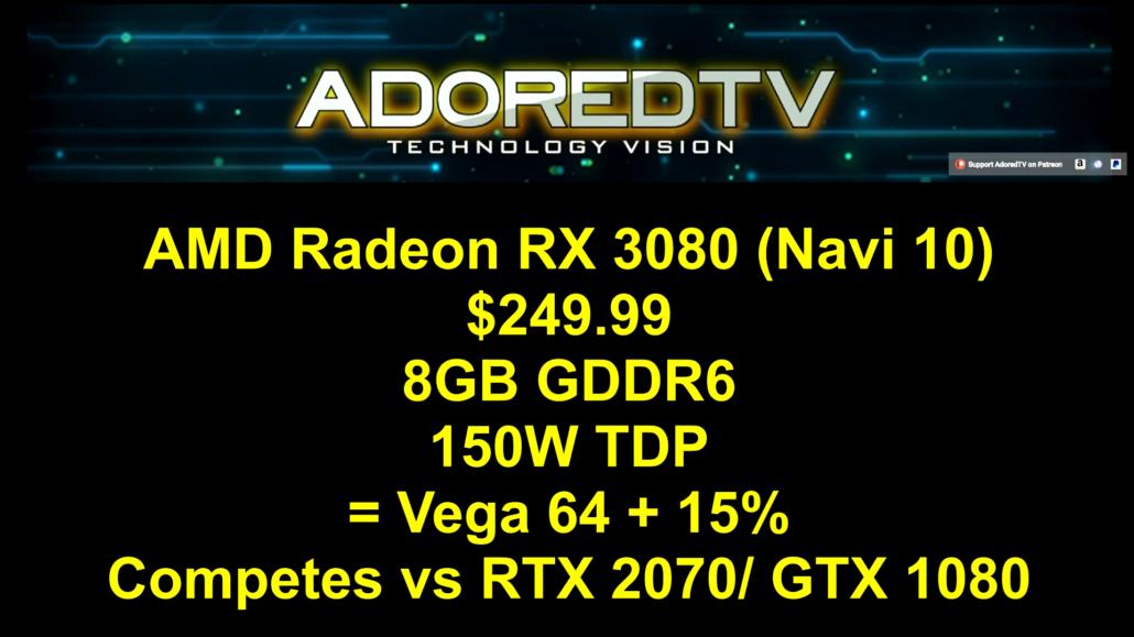 AMD @ 7nm - Ryzen 3k series GPUs - Navi & Vega 2 GPUs | [H