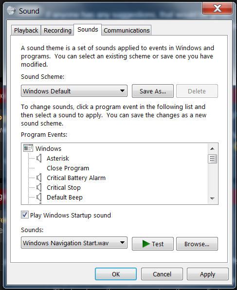 How do you change the Windows 7 Startup Sound?   [H]ard Forum