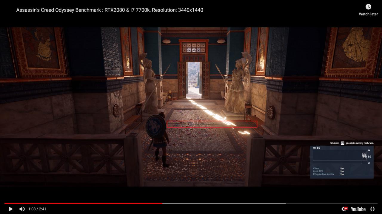 Weird flicker on Rtx 2080 Ti on Assassin Creed Oddyssey