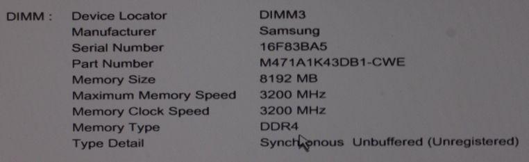 HP 405 G6 default memory 3200MHz.JPG