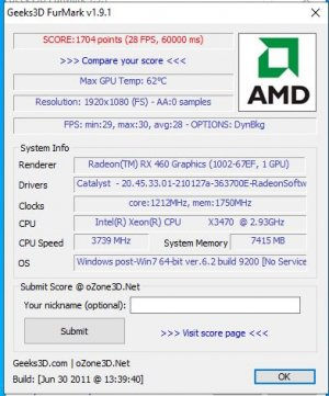 Gigabyte RX 460 FurMark PCI-e 2.jpg